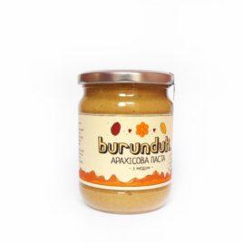 Арахисовая паста «С медом» (Burunduk, Украина)