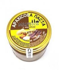 Арахисовая паста «с Кэробом» (Manteca, Украина)