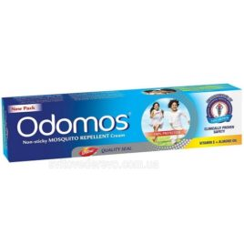 Крем от комаров «Odomos» (Dabur, India)