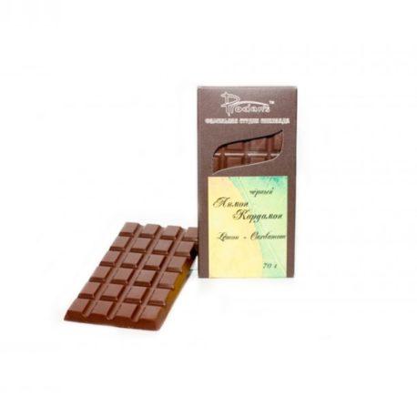 Шоколад черный «C Лимоном и Кардамоном» (Prodan`s, Украина)