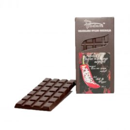 Шоколад черный «C солью и смесью перцев»