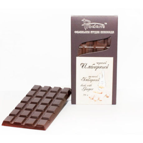 Шоколад черный «Имбирный» (Prodan`s, Украина)