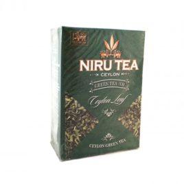 Цейлонский зеленый чай NIRU TEA (Шри Ланка)