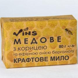 Мыло «Медовое с корицей» (ТМ «Vins», Украина)