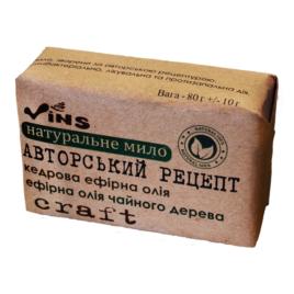 Мыло «Авторский рецепт» (ТМ «Vins», Украина)