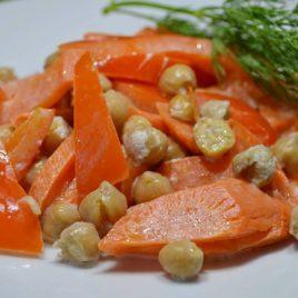 Ассорти из овощей и нута