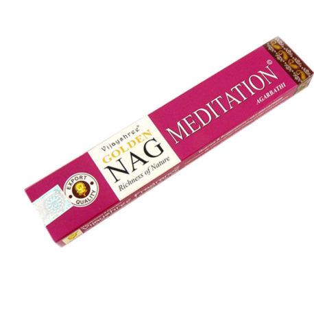 """Благовония Golden Nag """"Meditation"""" (India)"""