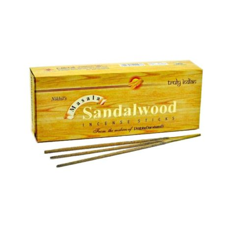 Благовония «Sandalwood MASALA» (Nikhil's, India)