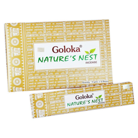 Благовония Goloka «Nature`s Nest» (India)