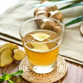Чай имбирный с лимоном 200 мл