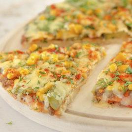 Пицца Чечевичная 600 г
