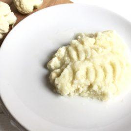 Пюре из цветной капусты сыроед. 150 г