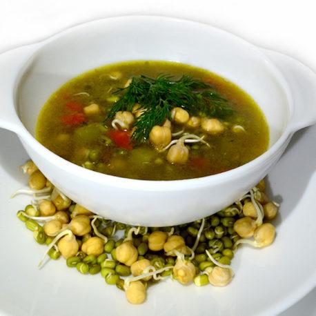 Суп с проростками