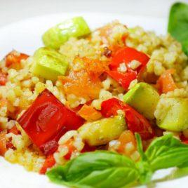 горячие вегетарианские блюда