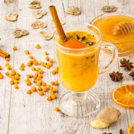 Чай Облепиховый с апельсином и медом