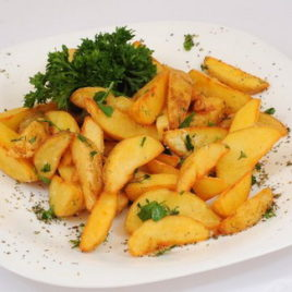 Картофель по-селянски с карри