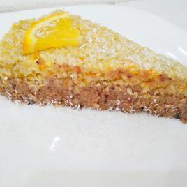 Торт Орехово-апельсиновый сыроед