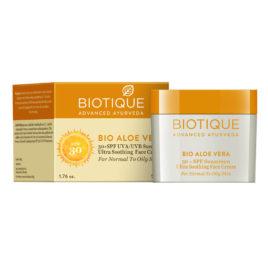 Солнцезащитный крем spf 30 (Biotique, India)