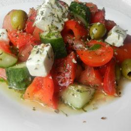 Салат «Греческий с сыром Фета»