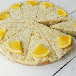 Торт «Орехово-апельсиновый сыроед» 1500г
