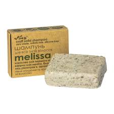 Шампунь твердый безсульфатный для всех типов волос MELISSA