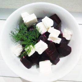 Салат Свекольный с фетой
