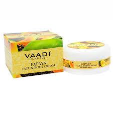 Питательный крем для лица и тела «Папайя», Vaadi