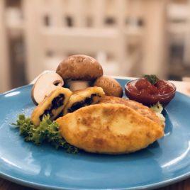 Зраза картофельная с грибами