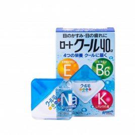 Rohto Cool 40α — капли для глаз японские